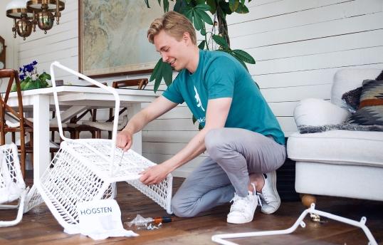 montera ikea möbler